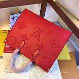 Сумка Луи Витон Onthego канва Monogram, кожаная реплика, фото 8