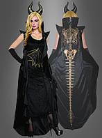 Темный сказочный костюм феи для женщин