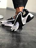 Чоловічі, жіночі кросівки NIKE WMNS ZOOM 2 Black/White, фото 2