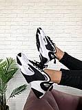 Чоловічі, жіночі кросівки NIKE WMNS ZOOM 2 Black/White, фото 7