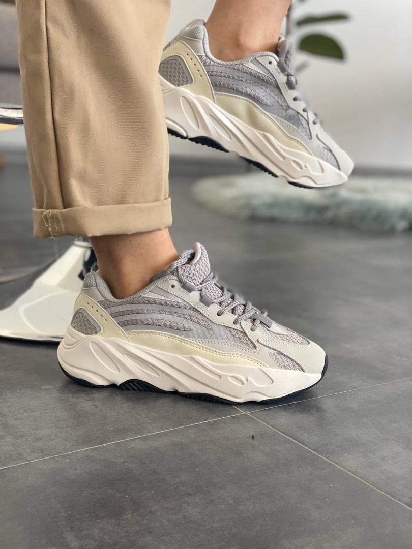 """Кроссовки женские Adidas Yeezy Boost 700 V2 """"Static"""" (Топ качество)"""