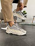 "Кроссовки женские Adidas Yeezy Boost 700 V2 ""Static"" (Топ качество), фото 6"