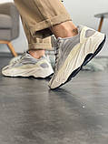 "Кроссовки женские Adidas Yeezy Boost 700 V2 ""Static"" (Топ качество), фото 7"
