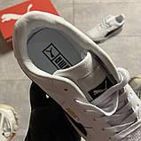 Кросівки Puma жіночі Cali White Black Line., фото 2