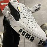 Кросівки Puma жіночі Cali White Black Line., фото 4