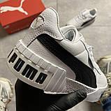 Кросівки Puma жіночі Cali White Black Line., фото 6