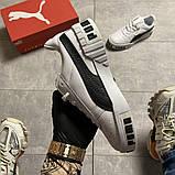 Кросівки Puma жіночі Cali White Black Line., фото 8