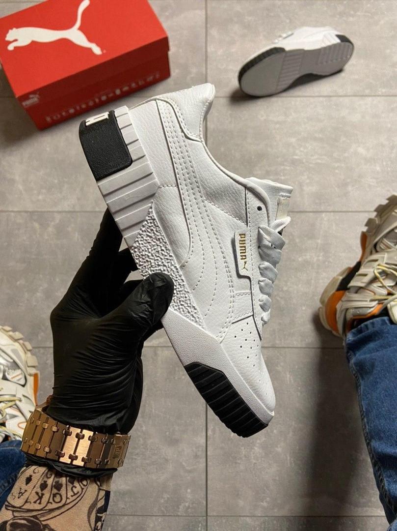 Кросівки Puma жіночі Cali White/Black.