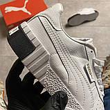 Кросівки Puma жіночі Cali White/Black., фото 4