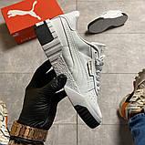 Кросівки Puma жіночі Cali White/Black., фото 9
