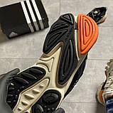 Чоловічі кросівки Adidas Ozweego Black Beige., фото 3