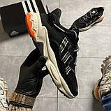 Чоловічі кросівки Adidas Ozweego Black Beige., фото 8