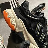Чоловічі кросівки Adidas Ozweego Black Beige., фото 9