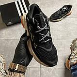 Чоловічі кросівки Adidas Ozweego Black Beige., фото 10
