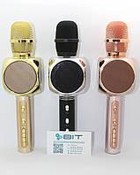 Беспроводной микрофон караоке YS-63 Bluetooth с динамиком MP3 USB для детей Блютуз