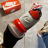 Мужские кроссовки Nike Air More Uptempo 720 Red/White., фото 3