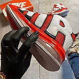 Мужские кроссовки Nike Air More Uptempo 720 Red/White., фото 5