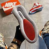 Мужские кроссовки Nike Air More Uptempo 720 Red/White., фото 10