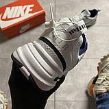 Мужские кроссовки  Nike Air Monarch White Blue., фото 2