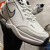 Чоловічі кросівки Nike Air Monarch White Blue., фото 3