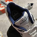 Чоловічі кросівки Nike Air Monarch White Blue., фото 5