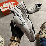 Мужские кроссовки  Nike Air Monarch White Blue., фото 6