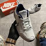 Чоловічі кросівки Nike Air Monarch White Blue., фото 8