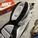 Мужские кроссовки  Nike Air Monarch White Blue., фото 9