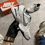 Чоловічі кросівки Nike Air Monarch White Blue., фото 10