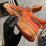 Мужские кроссовки  Adidas Ozweego Orange Red., фото 5
