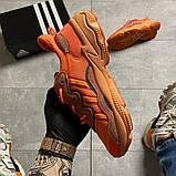 Мужские кроссовки  Adidas Ozweego Orange Red., фото 7