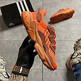 Мужские кроссовки  Adidas Ozweego Orange Red., фото 10