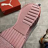 Кросівки Puma жіночі Cali White and Pink Sole., фото 7