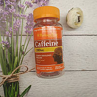 Puritan's Pride Caffeine 60 caps 200 mg