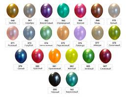 "Латексные шары Belbal металлик 12"" (105)"