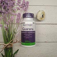 Natrol Guarana 90 caps 200 mg USA, фото 1