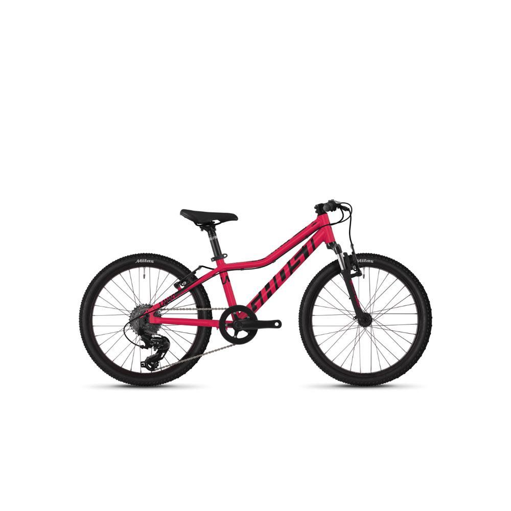 "Велосипед Ghost Lanao 2.0 20"" , рама XXS,  красно-черный, 2019"