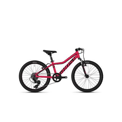 "Велосипед Ghost Lanao 2.0 20"" , рама XXS,  красно-черный, 2019, фото 2"