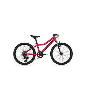 """Велосипед Ghost Lanao R1.0 20"""" , малиново черный,  2019"""