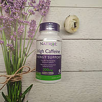 Natrol High Caffeine 100 tab 200 mg, фото 1
