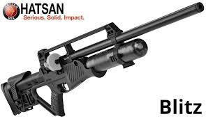 Пневматическая винтовка Hatsan Blitz PCP + насос Artemis