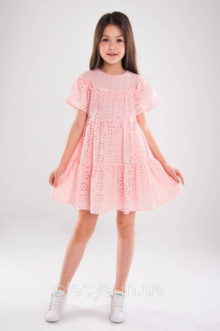 Платье детское летнее красивое для девочек ТМ Suzie Размеры  98- 140