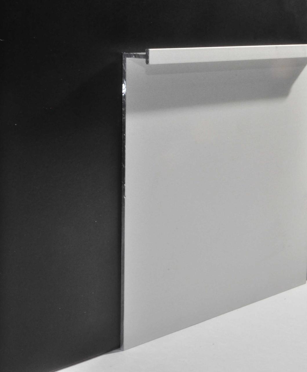 Плинтус алюминиевый скрытого монтажа Braz Line 70х3000 мм без покрытия BL3114