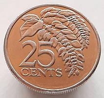 Тринидад и Тобаго 25 центов 2003