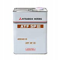 Трансмісійне масло Mitsubishi ATF SP III 4л