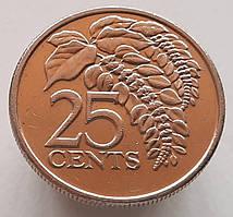 Тринидад и Тобаго 25 центов 2008