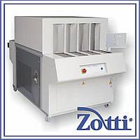 Тоннель на 4 дорожки для стабилизации заготовки на колодке mod. FO3024. Elvi (Италия)