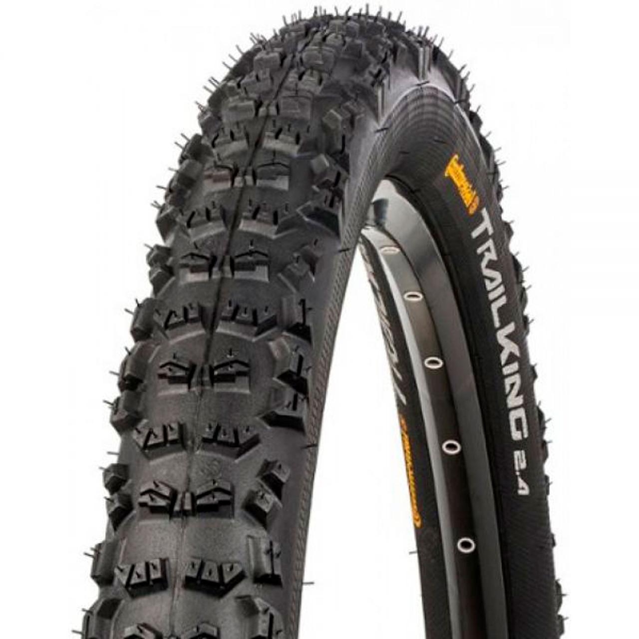 "Покрышка Continental Trail King 2.2, 27.5""x2.20, 55-584, Foldable, PureGrip, Performance, Skin, черный"