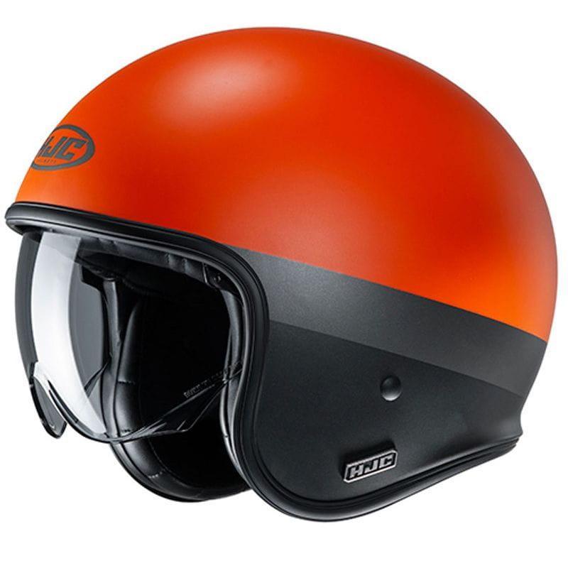 Мотошлем HJC V30 Perot Orange
