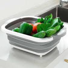 Кошик -дошка для фруктів і овочів складна 4 в 1